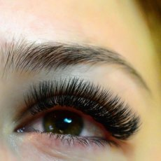 Classic eyelash extensions- full set £35, infills £25