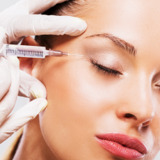 Injection de botox ou toxine botulique