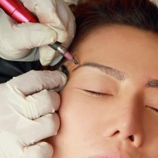 Permanent eyeliner & lash enhancement