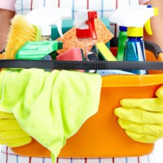 Cleaning of apartments in London