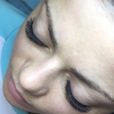 Eyelash extensions, Individual eyelashes, 3D Russian eyelashes