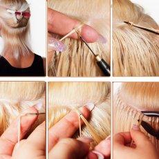 Russian Hair Extensions / Micro Nano Keratin