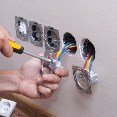 Electrician services at home - Electrical installation