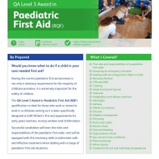 Paediatric First Aid Harrow on the Hill