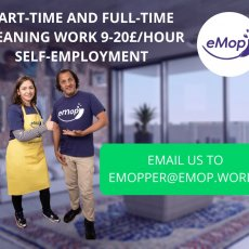 Cleaners are required (Full-time, Part-time)