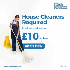 House Cleaner Required