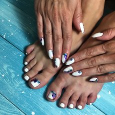 MANICURE, PEDICURE, NAIL ART, NAIL EXTENSIONS