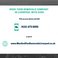 Ask for Your Free Removal Quotes in Liverpool