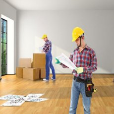 Repair of apartments in London