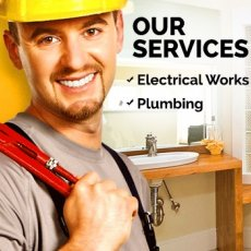 Plumbing and electrician services