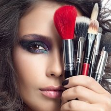 Professional hair and makeup artist at SELINA MANIR ACADEMY