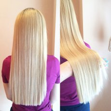 Russian Keratin Micro Nano Mobile Hair Extensions
